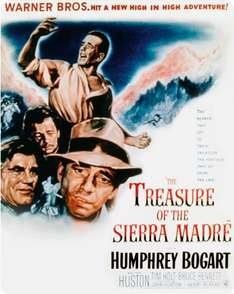 The Treasure of the Sierra Madre Steelbook (Blu-ray + UV Copy) - £7.50 at Amazon   (free delivery £10 spend/prime)