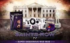 """Saints Row IV Super Dangerous WUB WUB EDITION (Xbox 360) inc 12"""" Replica Dubstep Laser & Sound Gun, Johnny Gat Statue, Commander In Chief Edition  DLC @ The Game Collection - £29.95"""
