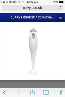 Currys Handheld Blender Reduced to £4.49 with Free Delivery