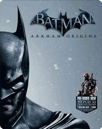 Batman: Arkham Origins Heroes & Villains Edition for Xbox 360 + Steel Pack Case £14.00 @ GAME