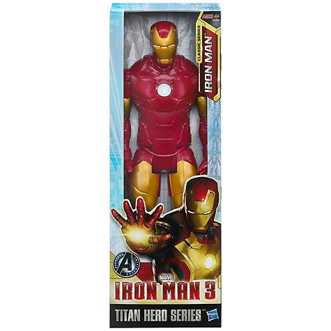 """Marvel Iron Man Titan Series 12"""" Figure £7.49 @ John Lewis, plus other Iron Man toys half price."""