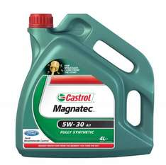 Castrol Magnatec 4L 5W-30 A1 Engine Oil £17.27 inc del from Amazon ** with code **