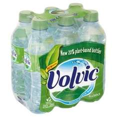 Volvic Still Natural Mineral Water (6x500ml) £1.50 or £1.00 (50p cashback from Quidco Clicksnap) @ Asda