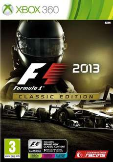 F1 2013 Complete Edition £11.99 Sainsburys Instore (360/PS3)