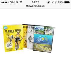 Le Tour De France - DVD Box Set 3x DVDs £3.99 delivered at the works cycling yorkshire grand departe