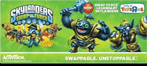Skylanders swap force figures bogof at toys r us £8.99