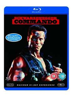Commando (Anold Schwarzenegger) Blu-Ray on Amazon for £5.00 with free delivery if you spend £10