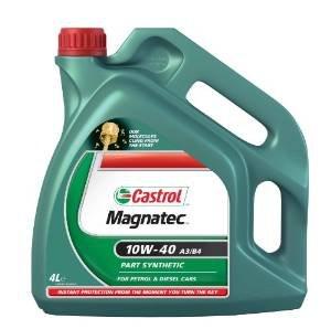Castrol Magnatec 10W-40 4L Petrol/ Diesel Part Synthetic Engine Oil A3/B4 £20.39 @ amazon.co.uk