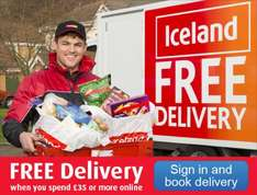 Iceland Online Free Home Delivery* £35 Minimum Spend