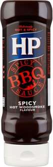 HP Classic, Honey or Spicy BBQ Woodsmoke Sauce (465g) was £1.95 now £1.00 @ Tesco