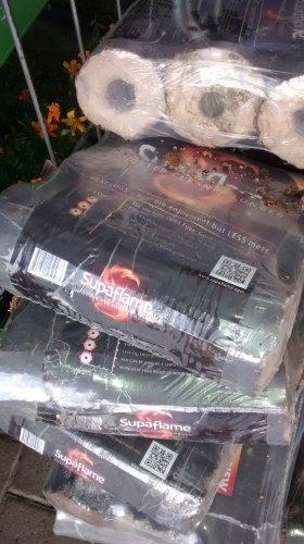 supaflame heat logs 3 pack @ b & m £1