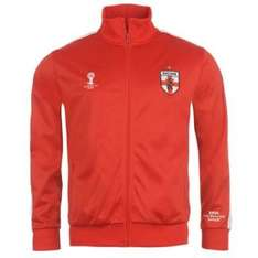 England tracksuit top with zip £7.99 + £3.99 P&P @ SportsDirect