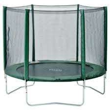 """Plum 8ft Trampoline & Enclosure £70 (or £60 with """"new"""" customer code) @ Tesco Direct"""