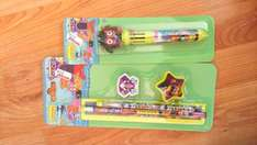 10 colour pen and stationary set £0.25 at Wilko (Wilkinson)