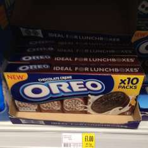 Oreo Cookies Original/Chocolate Creme (10 per pack)for £1 @ Morrisons