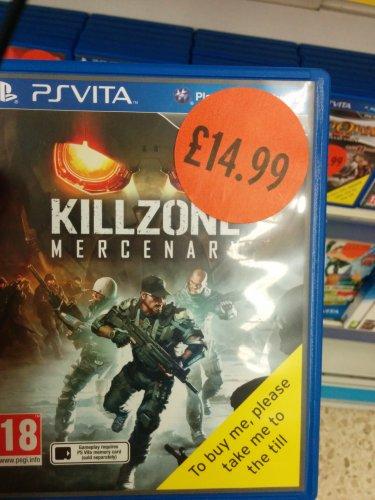 Pikmin 3 £19.99, Killzone Mercenary £14.99, Luigi's mansion 2 £19.99 in store at Sainsburys