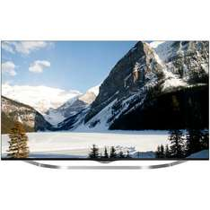 "LG 55"" 55UB850V Ultra HD 4K TV with webOS, Selfridges £1599 with 5yr guarantee & free LG G tablet"