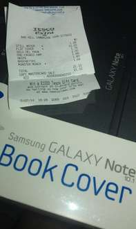 Official Samsung note 10.1 book cover £10 @ Tesco Extra