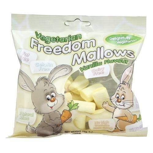 Freedom Vanilla Vegan Marshmallows 75g @ Holland & Barrett £2.50