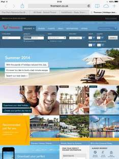 Thomson manchester to Ibiza July 23rd for one week £88.98 return each