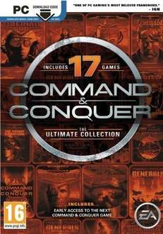 Command & Conquer: Ultimate Collection PC for £6.95 [with fb discount] @ CDKeys