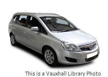 Brand New Vauxhall Zafira MPV 5 Door 1.6i 5dr £9995.00 at Car Quake