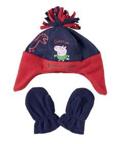 George pig fleece hat and mittens set £3 at Mothercare