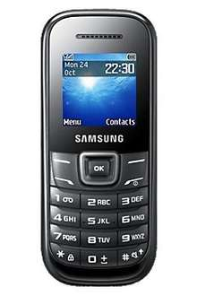 Samsung E1200 only 49p (upgrade), with free next day delivery @ CARPHONEWAREHOUSE