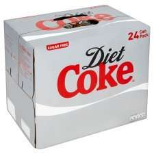 for all coke heads 48 Cans diet coke for £13 @ Farmfoods