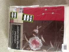 Dunelm Mill Curtains and Bedding Reduced 90%.   Was £59.99 Now