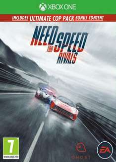 Need For Speed: Rivals (XBOX ONE) Preowned @ GAME - £24 / NEW @ Currys/PC World - £29.97
