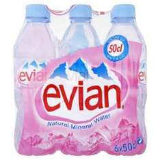 Evian 6 pack from asda £1