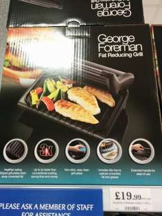 George Foreman Family Grill £19.99 - Home Bargains