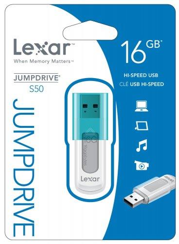 Lexar 16GB JumpDrive S50 USB Flash Drive Memory Stick £4 @ Amazon (add on item / £10 spend)