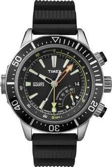 "Timex Men's  ""IQ Adventure Series"" Stainless Steel Dive Watch @ Amazon.com £73.72"