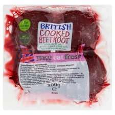 Cooked Beetroot Vacuum Pack 300G - 80p each or 2 packs for 75p @ Tesco