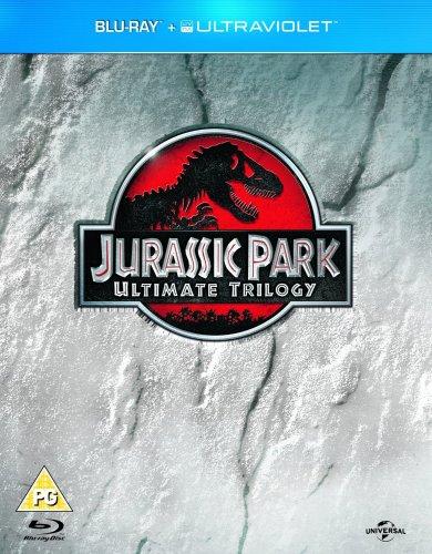 Jurassic park BLU-RAY+UV trilogy £8.99 at base