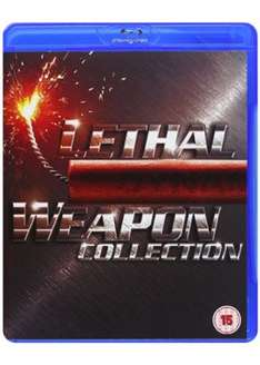 Lethal Weapon Collection - 1 - 4 Boxset (Blu-Ray) £7.99 @ Base