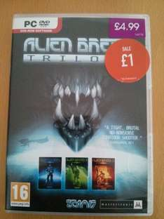Alien Breed Trilogy for PC - £1.00 @ GAME (in store)