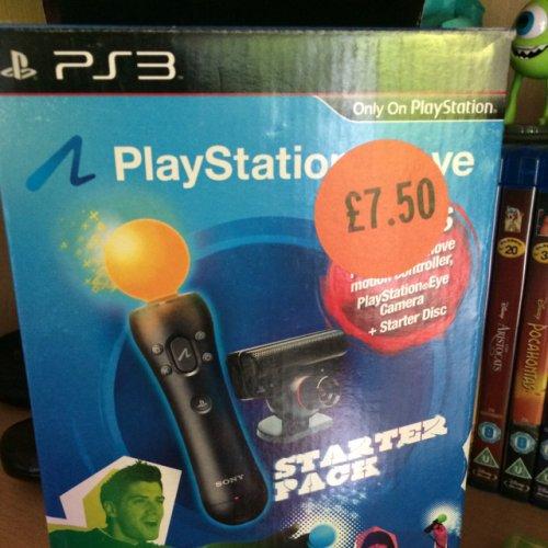 PS3 Move Starter Pack £7.50 Sainsburys instore