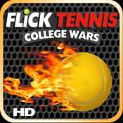 Flick Tennis: College Wars HD for iPad - FREE download from iTunes (Usually £2.49)
