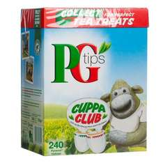 PG Tips 240 pack Half Price was £5.68 now £2.84 starts 6/7/14 @ Morrisons