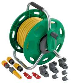 Hozelock 2 In 1 Reel And 25m Hose Green/Yellow was £34.98 now £23 @ B&Q
