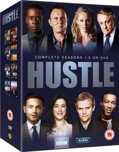 BBC The Hustle Boxset season (1-8) £17.25 @ Amazon