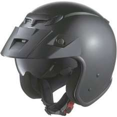 Highway 1 JX2 Jet Helmet - Metallic Black £39.99 + free delivery @   getgeared.co.uk