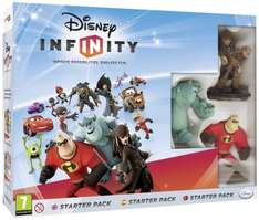 Disney Infinity Starter Pack £12.99 (3ds) - £20.99 (wii u) PS3 & xbox £19.99 @ Amazon