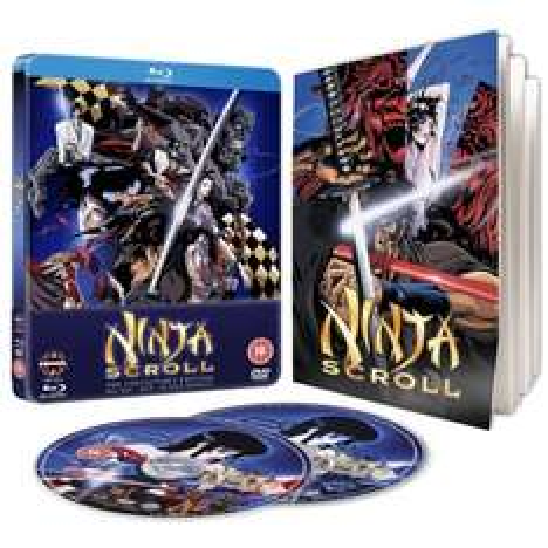 Ninja Scroll - STEELBOOK Collectors Edition (Blu-Ray + DVD) £9.99 @ Base -