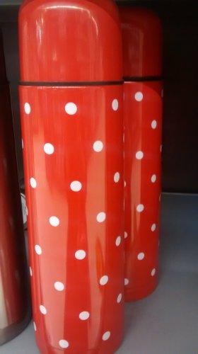 Red and white polka dot 1 litre flask £1.50 @ Asda direct & Asda Groceries
