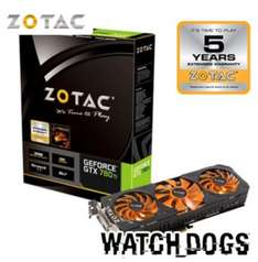 Nvidia GeForce GTX 780Ti OC 3GB ZOTAC PCI Express Graphics Card + 5 Year Extended Warranty + Watch Dogs game £449.99 @ Scan (Today only page) 'Delivery from free'