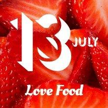 Regent Street 13th July - love food day